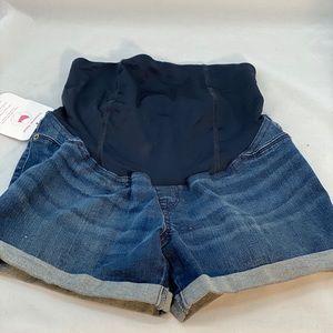 Size 2 new maternity shorts